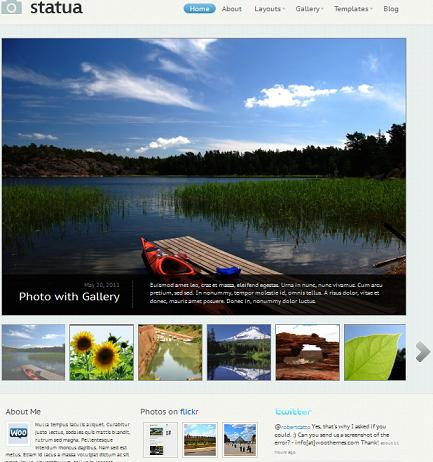 Statua Photography Template