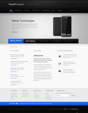 Joomla 2.5 Business Template - FutureProspects