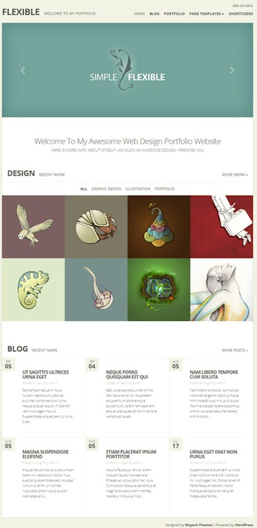 Flexible Responsive WordPress Theme