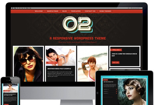 Responsive Theme02 Tumblr Clone Theme